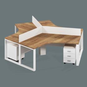 Aries Workstation Table,Custom Made Office Furniture Abu Dhabi, Office Furniture Manufacturer Abu Dhabi
