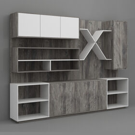 Capri Display Cabinet,Custom Made Office Furniture Abu Dhabi, Office Furniture Manufacturer Abu Dhabi