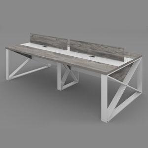 Capri Workstation Table,Custom Made Office furniture UAE, Office Furniture Manufacturer UAE