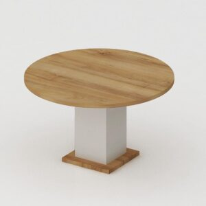 Copper Round Meeting Table