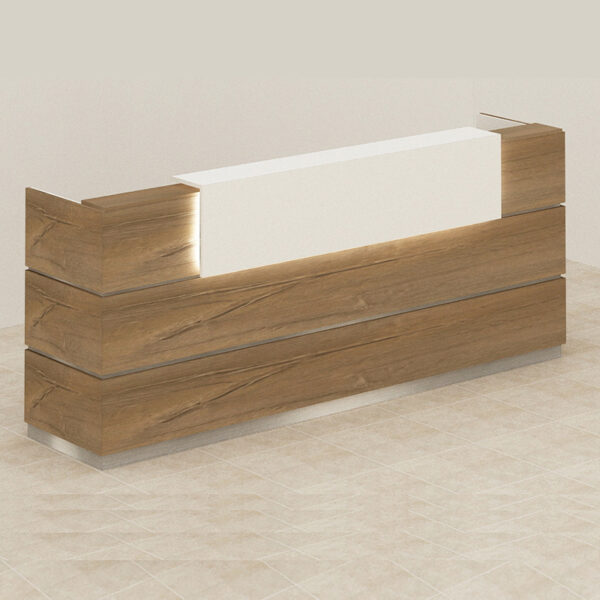 Glow Reception Table,Custom Made Office Furniture Abu Dhabi, Office Furniture Manufacturer Abu Dhabi