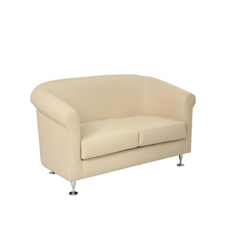 Ivory Two Seater Sofa