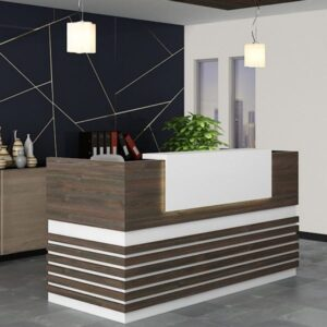 Kazo-Reception-table,Custom Made Office furniture UAE, Office Furniture Manufacturer UAE