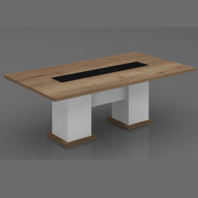 Oak Small Meeting Table,Custom Made Office Furniture Abu Dhabi, Office Furniture Manufacturer Abu Dhabi