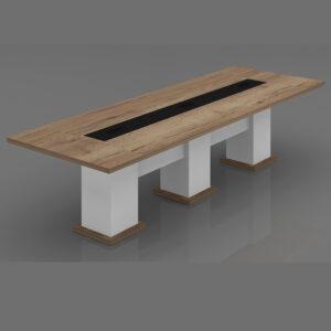 Oak Meeting Table,Custom Made Office furniture UAE, Office Furniture Manufacturer UAE