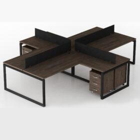 Onyx Workstation Table,Custom Made Office Furniture Dubai, Office Furniture Manufacturer Dubai