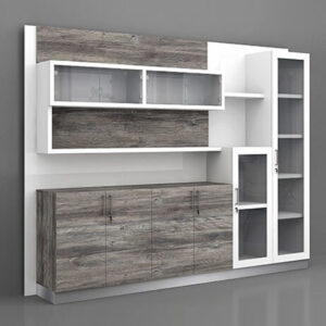 Pluto Display Cabinet