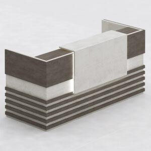 Tango Reception Table,Custom Made Office Furniture Dubai, Office Furniture Manufacturer Dubai