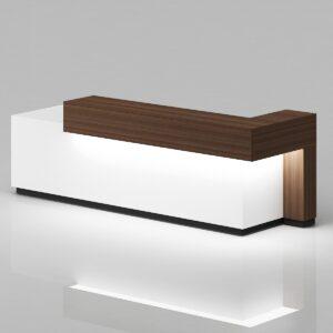 Vento Reception Table,Custom Made Office furniture UAE, Office Furniture Manufacturer UAE