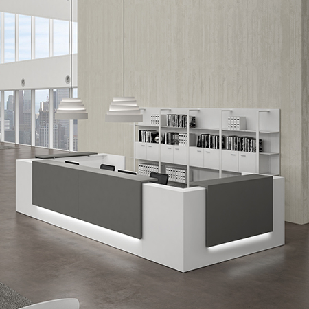 Zen Reception Table,Custom Made Office Furniture Dubai, Office Furniture Manufacturer Dubai