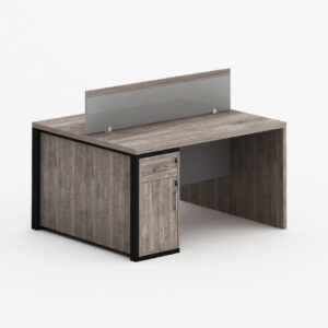 Queen 2-Person Workstation Table