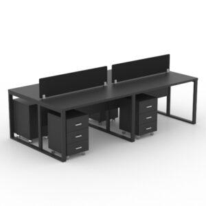 Smoke Workstation Table
